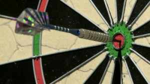 stock-footage-close-up-of-a-single-dart-hitting-the-bull-s-eye-on-a-dart-board